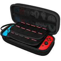 JETech Carrying Case for Nintendo Switch with 20 Game Cartridge Holders Black