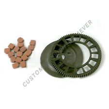 Clutch Big Bevel Gear and Friction Pads Fit 80cc Bicycle Motorized Engine Parts