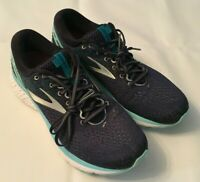 WOMENS BROOKS GHOST 11 NAVY/GREY/BLUE RUNNING SHOES SNEAKERS 1202771D493 SZ 11D