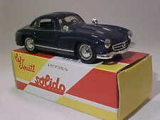 4 Inch Mercedes-Benz 300SL Gullwing 1954 Solido 1/43 Diecast Mint in Box