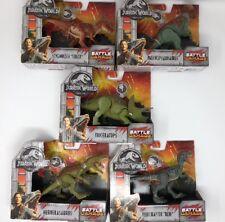 Jurassic World Fallen Kingdom Set Of 5 Battle Damage Dinosaurs Walmart Exclusive