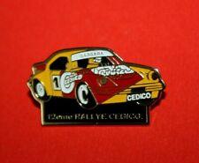 Pin's Pins lapel Pin Car Auto PORSCHE 911 CARRERA BARBARA 12eme RALLYE CEDICO EF