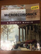 Principles Of Microeconomics 3Rd Edition Text Book Mankiw