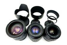 Minolta OBIETTIVO TAMRON AF 28-200 f3.8-5.6 Zoom XI 28-80 f4-5.6 Zoom 80-200 Sony jb078