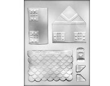 Chocolate Gingerbread House Mould
