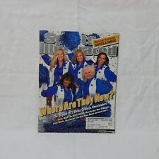SPORTS ILLUSTRATED JULY 2-9, 2001 ON THE COVER DALLAS COWBOYS CHEERLEADERS