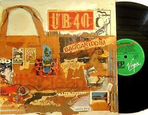 "UB40 - Baggariddim Vinyl LP PLUS Bonus 12"" Single 1985 Virgin Australia-LP DEP10"