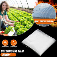 200μ Heavy Duty Greenhouse Clear Film 5.5Mil(0.14mm) UV Stabilised Garden Plant