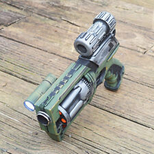 Green and Silver Steampunk Pirate Nerf Maverick