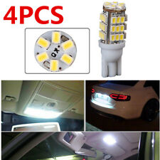 4X 42-SMD 12V Pure White T10/921/194 RV Trailer Backup Reverse LED Lights Bulbs