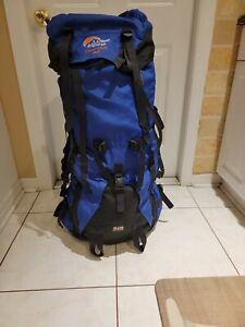 Lowe Alpine Contour Classic 90+15 Internal Frame Backpack Blue/Black