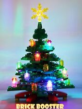 Lego Christmas Tree with LED Decoration Light (Powered by USB)