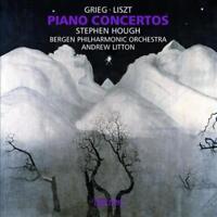 GRIEG, LISZT: PIANO CONCERTOS NEW CD