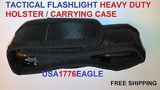 HEAVY DUTY HOLSTER /CARRY CASE for Atomic Beam USA Tactical Flashlight