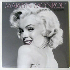 Marilyn Monroe ™ 2014 Graphique 16 Month Wall Calendar - New Sealed
