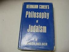 Hermann Cohen's philosophy of Judaism by Jehuda Melber