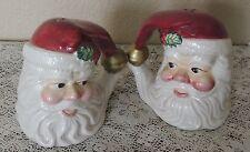 Vintage Fitz Floyd Omnibus Santa Claus Salt & Pepper Shakers