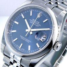 ROLEX DATEJUST 116200 JUBILEE BRACELET BLUE STICK
