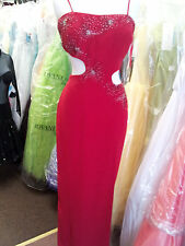PF Red Prom Evening Formal Special Occasion Dance Dress. # 3169   S 12.