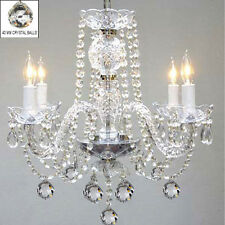 CRYSTAL CHANDELIER CHANDELIERS LIGHTING WITH CRYSTAL BALLS !