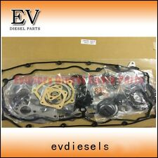 Isuzu 4JJ1 4JJ1T 4JJ1-TC Full cylinder head gasket for excavator and D-max
