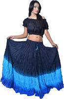 Gypsy Belly Dance Cotton Peasant Boho Skirt  - 12 Yard Skirt