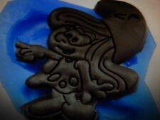 CARTOON FIGURINE Silicone MS Schtroumpf Moule gâteau décoration glaçage