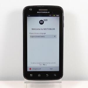 Motorola Atrix MB860 4G (AT&T) MOTOBLUR Smartphone Black