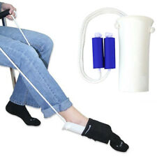 Medical Formed EZ TUG Sock Slider Aid Helper Kit Helps Put Socks On Off NO BEND