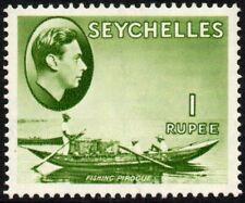 Seychelles 1938 1r. fishing pirogue, MH (SG#146)