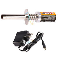 80101 Glow Plug Igniter Ignition + Charger For HSP 1/10 Nitro RC Car Truck #GD