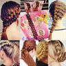 Lady Fashion Hair Styling Clip Stick Bun Maker Braid Salon Tool Hair Accessory