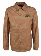 Nike SB ASST Coaches Mens Jacket Brown XXL 682821 234