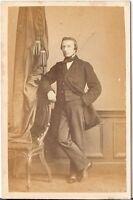 CDV photo Feiner Herr - 1860er