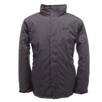 Regatta Jacket Stanway Padded Insulated Outdoor Waterproof Hiking Working  Ebony