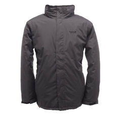 Regatta Jacket Stanway Padded Insulated Outdoor Waterproof Hiking Working  Ebony