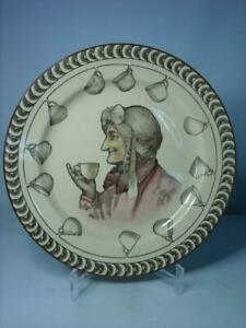 """Royal Doulton TEATIME SAYINGS - A GOOD CUP OF TEA 10.5"""" Plate D2799 Series Ware"""