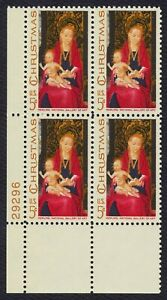 #1336 5c Madonna and Child, Plate Block [29296 LL], Mint **ANY 4=FREE SHIPPING**