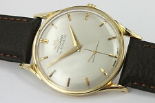 MOVADO Automatic Bumper Uhr/Watch 18k solid GOLD Herren/Gents Ultra Rare Cal.115