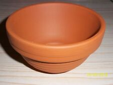 5 x 11.5cm TERRACOTTA NEST PANS FOR CANARIES , FINCHES ETC,  cage & aviary birds