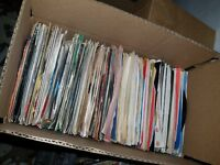 """Lot Of 50 Country and Western 45's Records Jukebox 7"""" 45rpm, Honkytonk & More"""