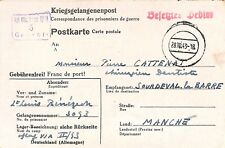 CPA PRISONNIERS DE GUERRE / KRIEGSGEFANGENENPOST OFFIZIERLAGER VI A 1943
