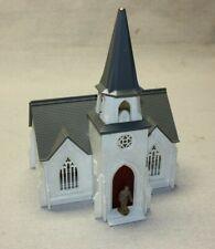 Vintage Plasticville Cathedral O & S Gauge