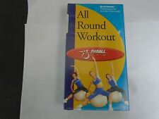 All Round Workout - Fitball Usa -Lisa Westlake Vhs New