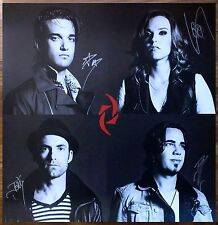 HALESTORM Into The Wild LIfe Signed By All 4 Ltd Ed HUGE RARE Poster! ReAniMate