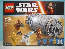 lego Star Wars (boite non ouverte) réff: 75136 (Droid Escape Pod)