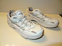 ORTHAHEEL Vionic WALKER, Orthotic Comfort Shoe White/Pink Leather Women's Sz 9