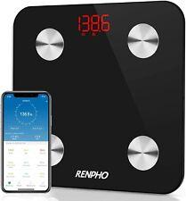 RENPHO Smart Bathroom Scale, Bluetooth Body Fat Monitor Weight Scale, Digital