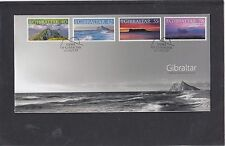 Gibraltar 2007 Scenic Views First Day Cover FDC Gibraltar special pk