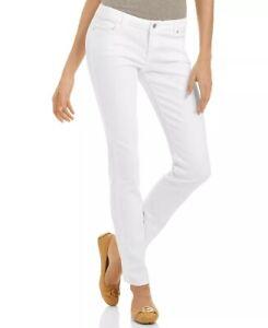 NWT $79.50 MICHAEL Michael Kors Skinny Jeans White 2